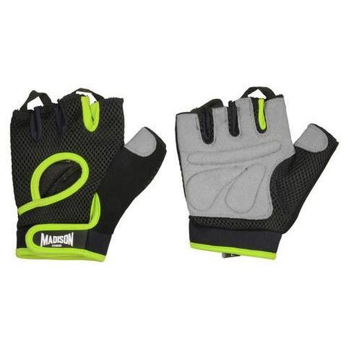 Madison Motivate Womens Fitness Gloves - Green - Sports Grade