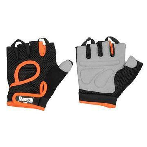 Madison Motivate Womens Fitness Gloves - Orange - Sports Grade