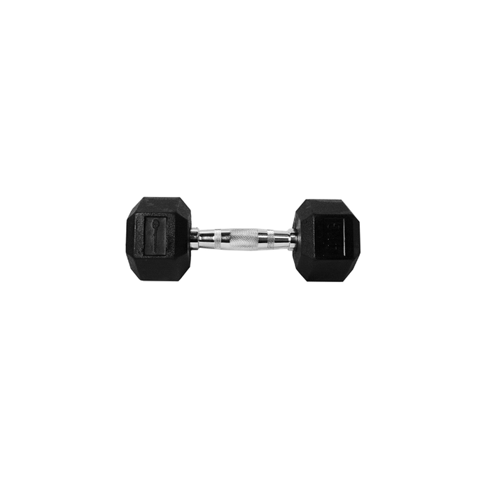 Ringmaster Hex Rubber Dumbbell - Sports Grade