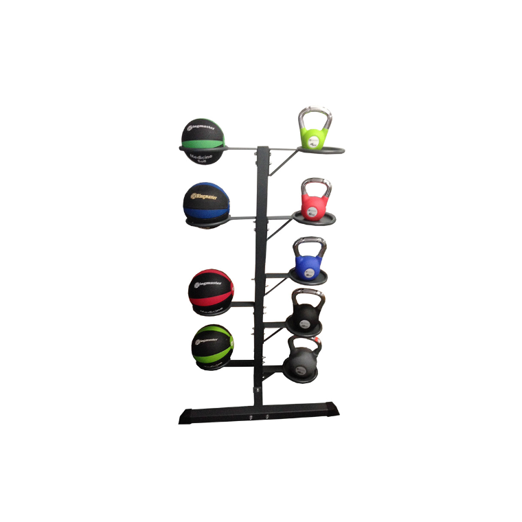 Ringmaster Medicine Ball And Kettle Bell Stand - Sports Grade