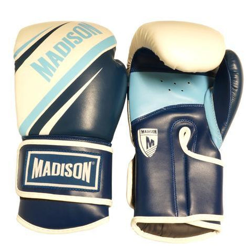 Madison Galaxy Boxing Gloves - Blue Boxing - Sports Grade