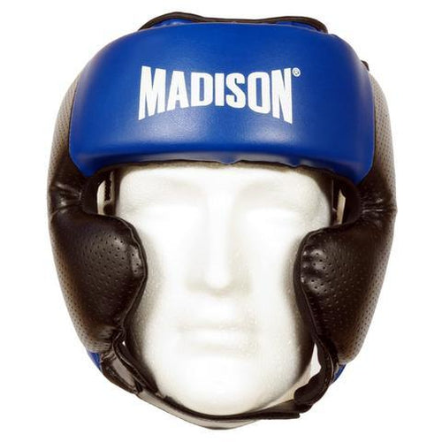 Madison Galaxy Headguard - Blue Boxing - Sports Grade