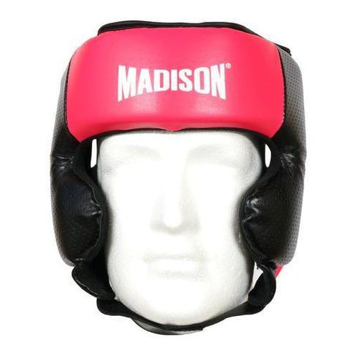 Madison Galaxy Headguard - Pink Boxing - Sports Grade