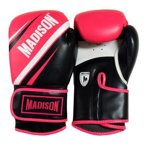 Madison Galaxy Boxing Gloves - Pink/Black Boxing - Sports Grade