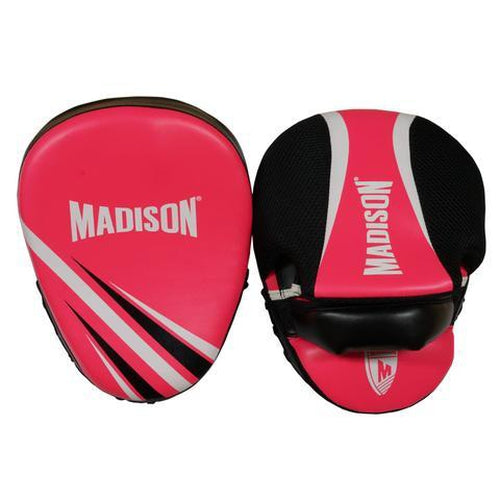 Madison Galaxy Focus Mitts - Pink Boxing - Sports Grade