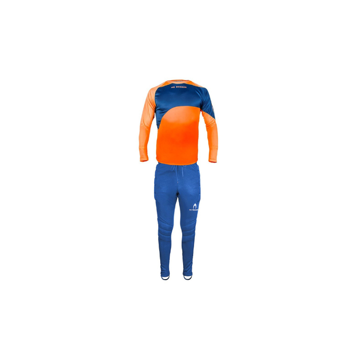 Ho Premier Goalkeeper Jnr Set - Fl. Orange/dark Blue - Sports Grade