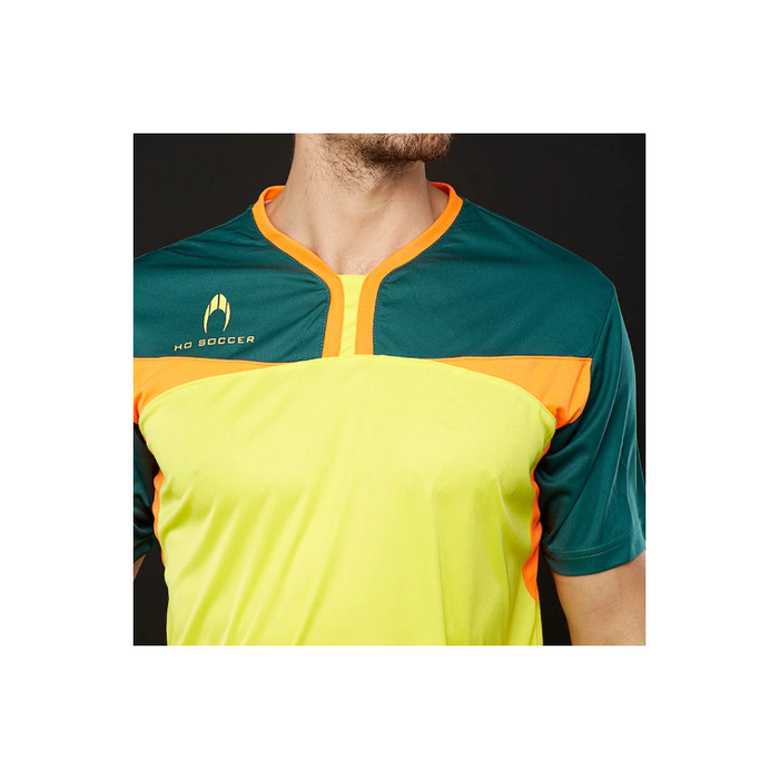 Ho Vision Gk Jersey Yellow /dark Green/orange - Sports Grade