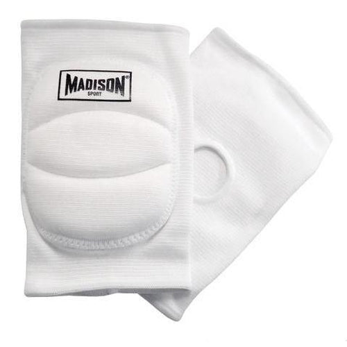Madison Volleyball Knee Pads - White - Sports Grade