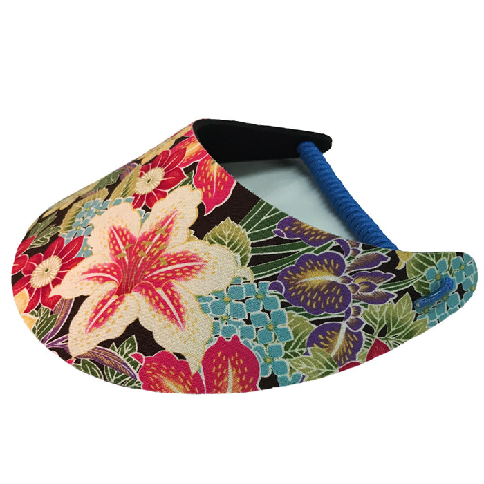 Ladies Golf Visor – Summer Blooms - Sports Grade