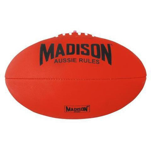 Madison Australian Rules Football - Red - Sports Grade