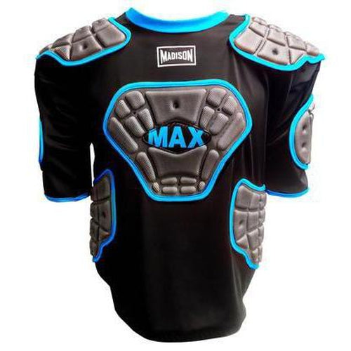 Madison Scorpion Max Vest Mens - Blue Rugby League NRL - Sports Grade