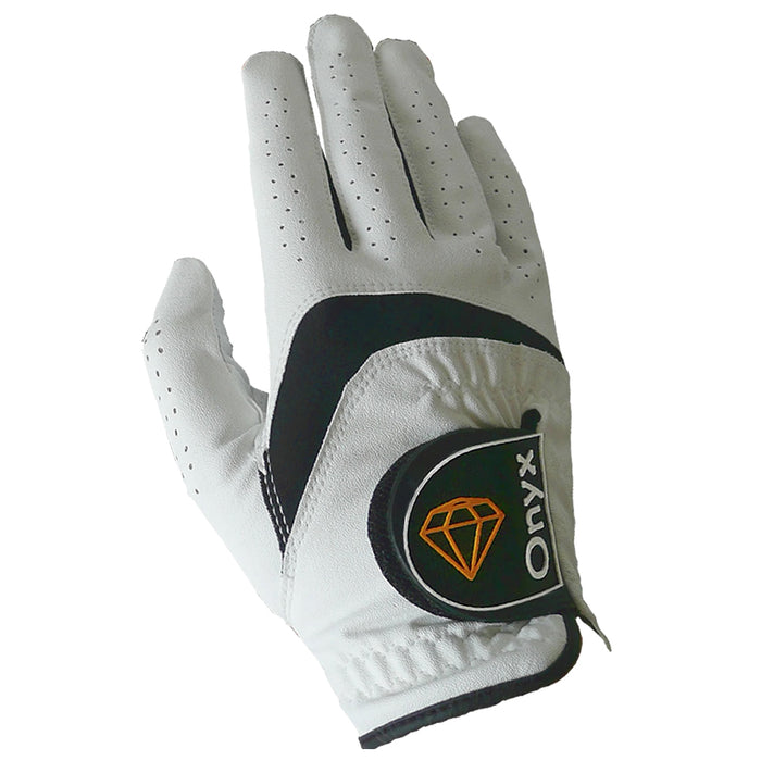 ONYX Ladies Golf Glove Left Hand White 3 Pack - Sports Grade