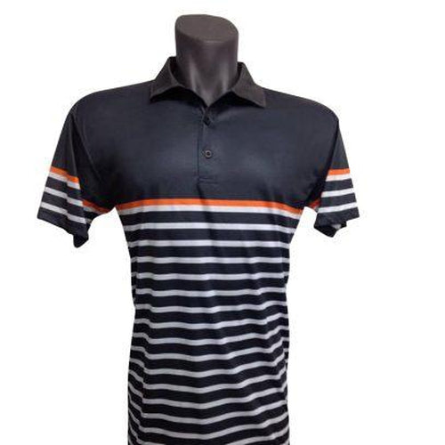 Onyx Mens Golf Shirt – Avoca Smoke – Large - Sports Grade