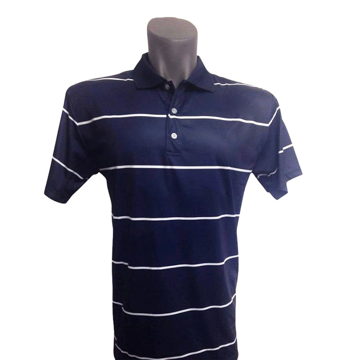 Onyx Mens Golf Shirt – Byron Navy – Large - Sports Grade