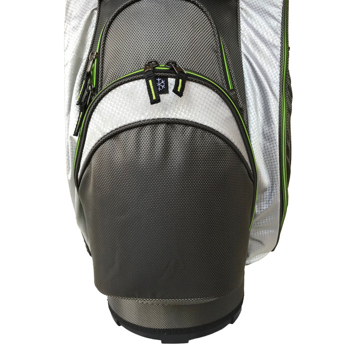 Onyx Spyder Cart Bag – Grey-Lime - Sports Grade