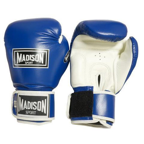Madison Pro Sparring Gloves - Blue Boxing - Sports Grade