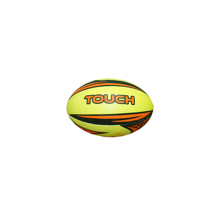 Patrick Rugby Ball Touch Senior - Nite Fluoro Yellow - Sports Grade