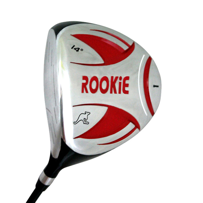 Rookie Kids Golf Set RH | 6Pce Red for 10 Yrs or Over - Sports Grade