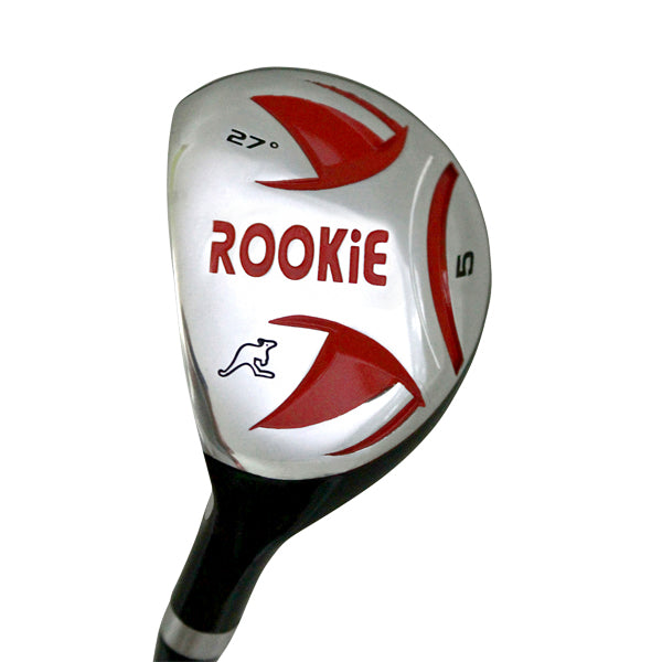 Rookie Kids Golf Set LH | 7Pce Red for 10 Yrs or Over - Sports Grade
