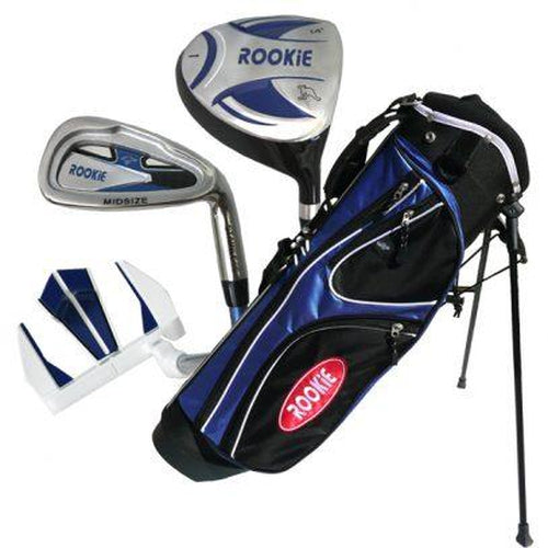 Rookie Junior Golf Set RH | 4 Pce Blue 4 to 7 YRS - Sports Grade