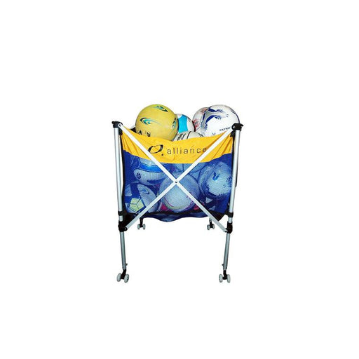 Alliance Foldable Ball Cart (Tote) - Aluminium - Sports Grade
