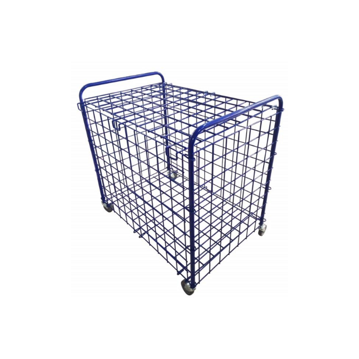 Alliance Metal Mesh Ball Storage Cage - Foldable - Sports Grade