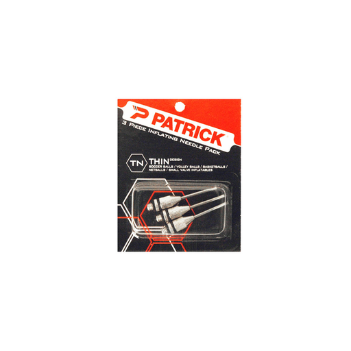 Patrick Ball Inflation Needle 3 Pack - Thin - Sports Grade