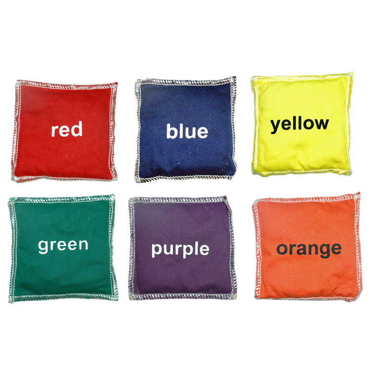 Alliance Cotton Bean Bags Set - Colours (Set Of 6) - Sports Grade