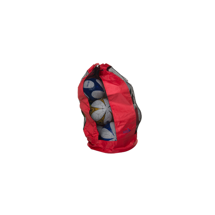 Diamond Ball Carry Sack-red (Holds 12) - Sports Grade