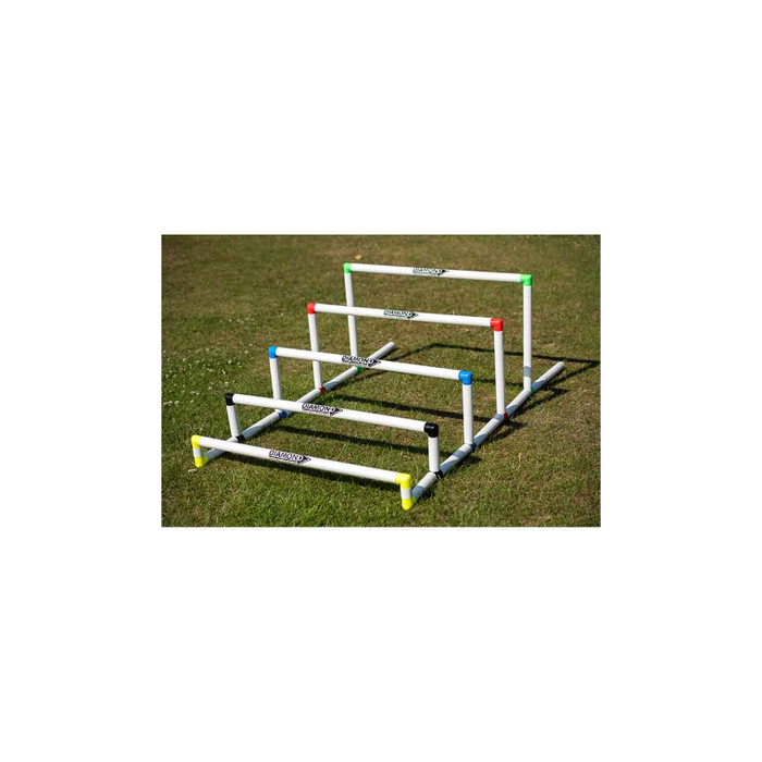 Diamond Pro Hurdles Set Of 5 - Sports Grade