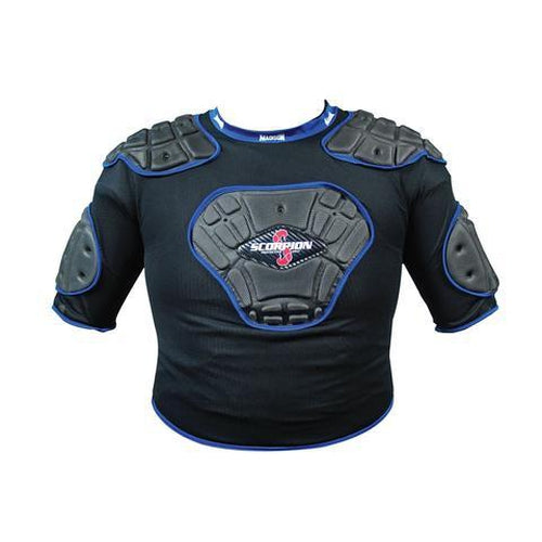 Madison Scorpion Vest Junior - Blue Rugby League NRL - Sports Grade