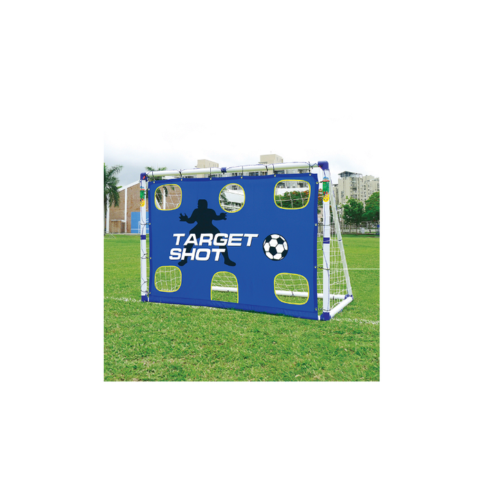 Outdoor Play Soccer Goal New Structure Target - 6ft - Sports Grade