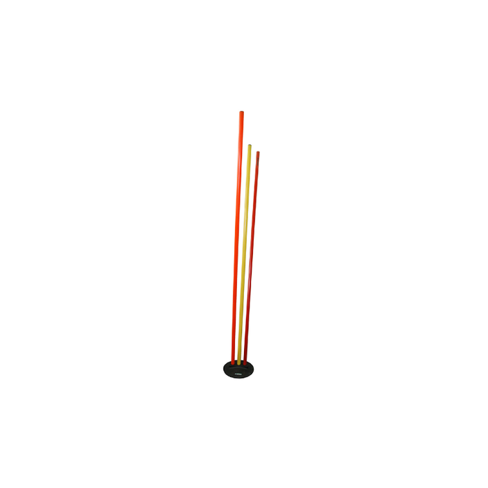 Patrick Agility Pole Zig Zag Base - Sports Grade