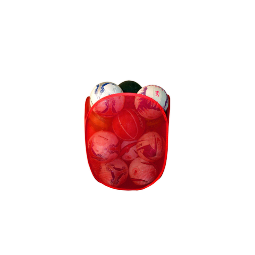 Patrick Pop Up Ball Bin - Red - Sports Grade
