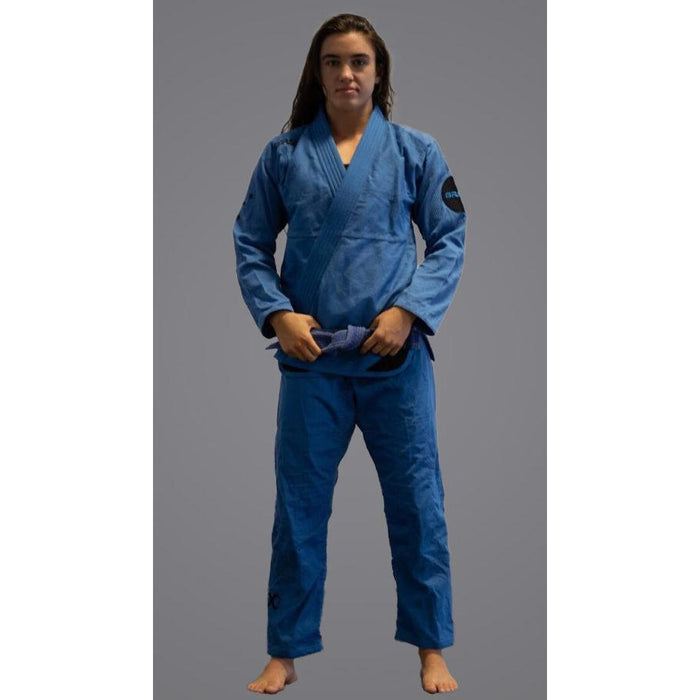 Braus Fight - Southern Cross – Women's Blue Steel Jiu Jitsu Gi - Sports Grade
