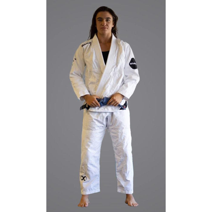 Braus Fight  - Southern Cross – Women's White Jiu Jitsu Gi - Sports Grade