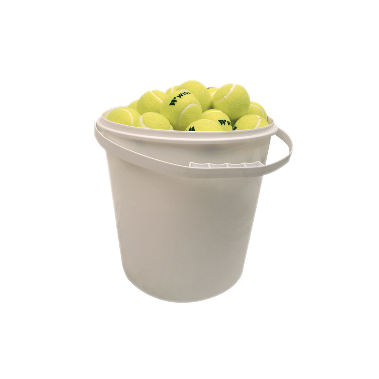 Bucket Of Tennis Balls (72) - Sports Grade