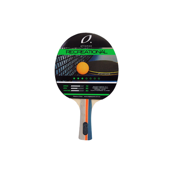 Alliance Typhoon 3 Star Table Tennis Bat - Sports Grade