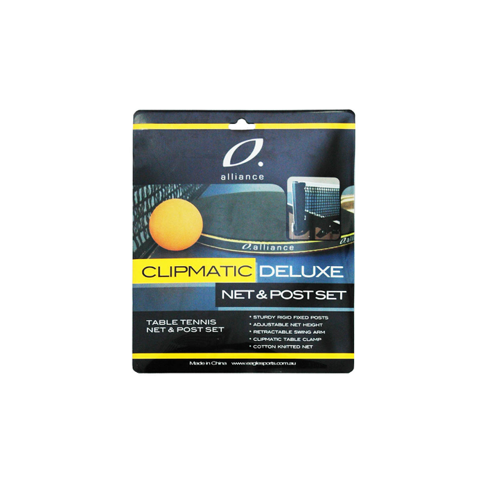 Alliance Clipmatic Deluxe Net And Post Set - Sports Grade