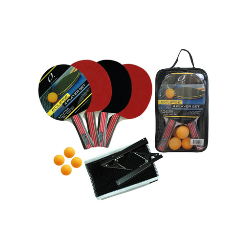 Alliance 4 Player Eclipse Table Tennis Set - Sports Grade