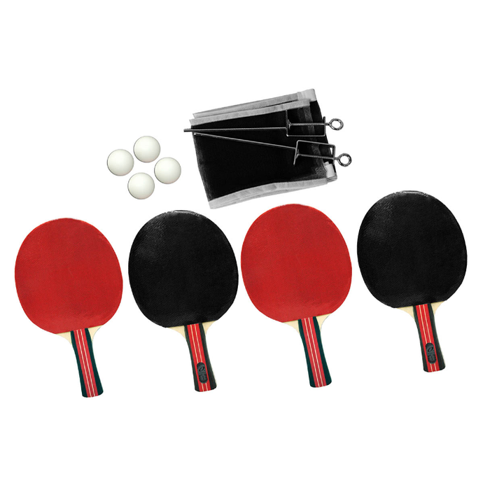 Alliance 4 Player Typhoon Table Tennis Set - Sports Grade