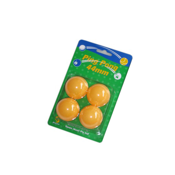 Josan Table Tennis Balls Jumbo 44mm Orange - Sports Grade
