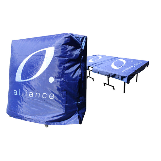 Alliance Table Tennis Table Cover - 1 Piece Table - Sports Grade