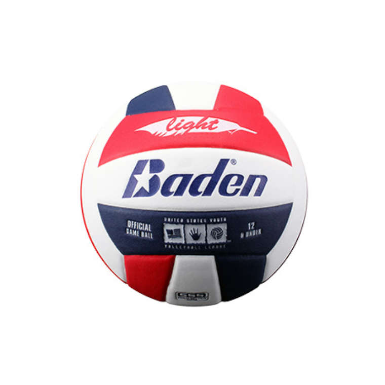 Baden Light Volleyball Red / White / Navy - Sports Grade