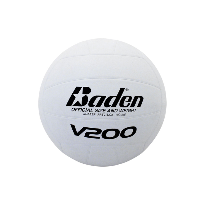 Baden Rubber Volleyball - White - Sports Grade