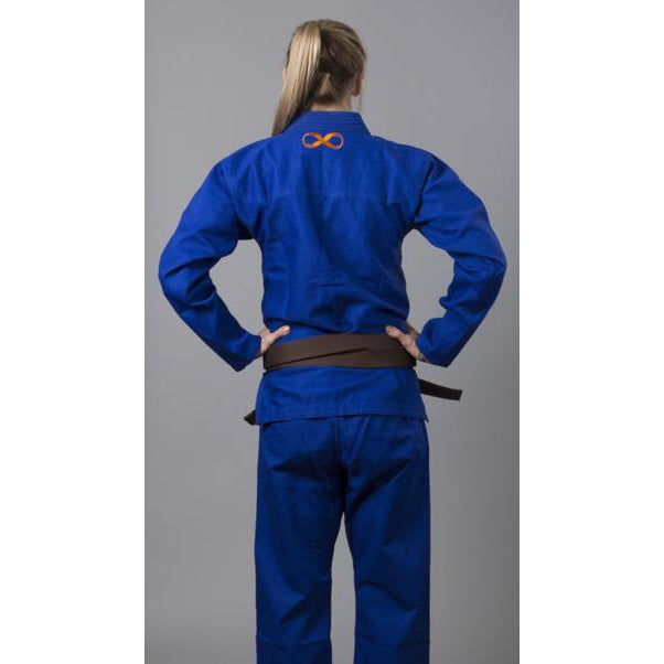 Braus Fight - Pro Light – Women's Blue Jiu Jitsu Gi - Sports Grade