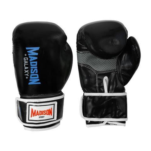 Madison Galaxy Training Gloves - Black Boxing - Sports Grade