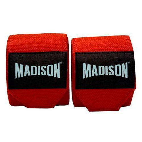 Madison Cotton Hand Wraps - 4.5m Boxing - Sports Grade