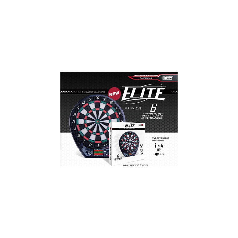 One80 Dartboard Electronic Elite - Sports Grade
