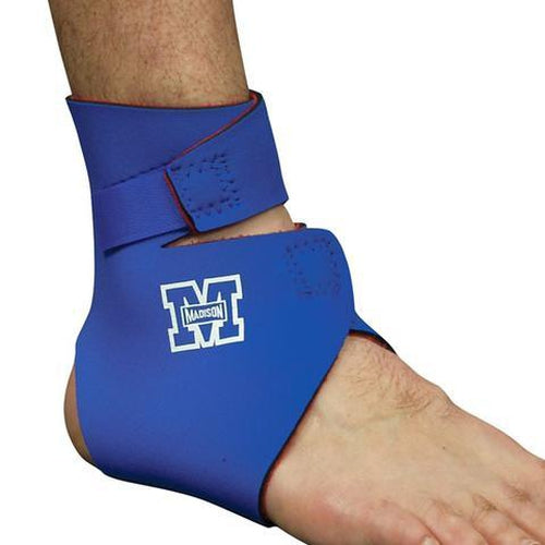 Madison Adjustable Ankle Heat Therapy - Blue - Sports Grade